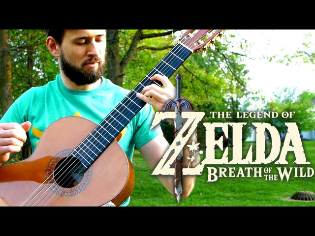 Zelda Breath of the Wild Guitar Cover Revali's Theme Sam Griffin