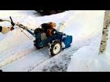 Мотоблок Нева мб 2 + снегоуборщик