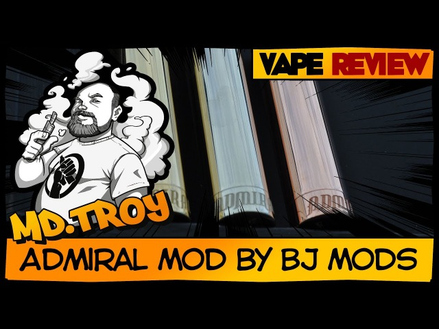 ADMIRAL MOD by BJ Mods (from redcoil.ru) | Broadside 18650\20700