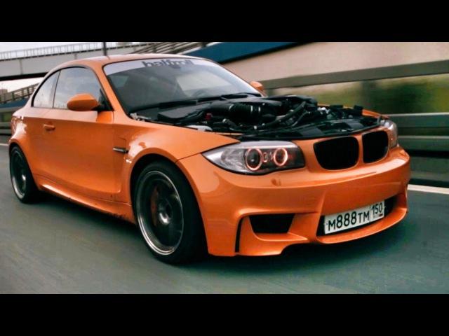 BMW 1М с V8 мотором от X5M 4.4 BiTurbo 555 сил пневма и полный привод