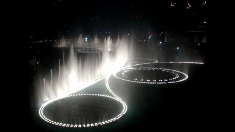 The Dubai Fountain - Time to Say Goodbye (High Quality) by Andrea Bocelli Sarah Brightman