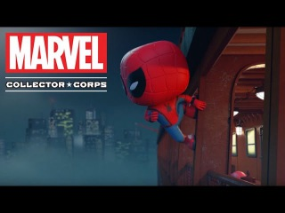 Marvel Collector Corps: Spider-Man Homecoming Trailer!