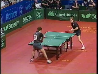 Jan-Ove Waldner Best Points of His Career of Table Tennis