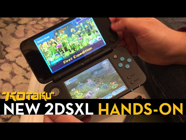 Hands On With The New 2DSXL