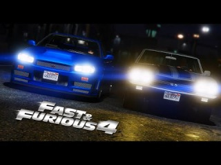 GTA 5 - Fast And Furious 4 - Race Scene