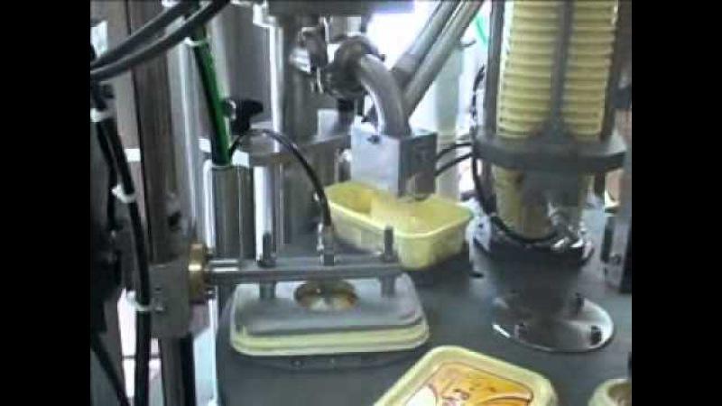 Автомат однорядный для фасовки в пластиковые стаканы