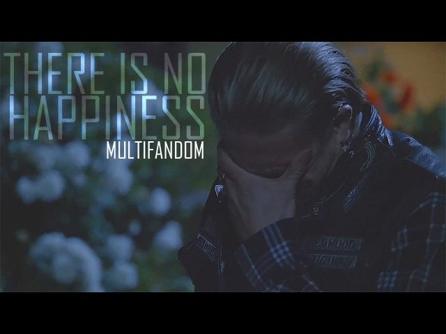 Multifandom There Is No Happiness