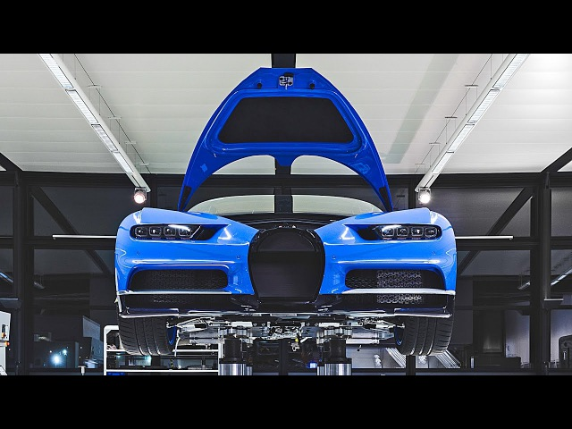 Bugatti Chiron – PRODUCTION – Dream Car Factory