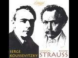 Koussevitsky Conducts Strauss Also Sprach Zarathustra  &ampTill Eulenspiegels  Lustige Streiche-BSO