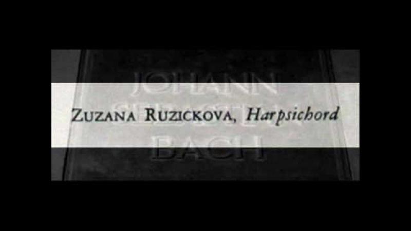 Bach / Zuzana Růžičková, 1965: Harpsichord Concerto in D major, BWV 972 (After Vivaldi)