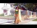 Ameynra fashion - animal print chiffon skirt. Designer Sofia Goldberg