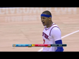 New York Knicks vs Atlanta Hawks - 4OT Full Game Highlights - January 29, 2017