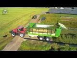 Inkuilen met de Krone ZX opraapwagen van Koonstra uit Balkbrug Trekkerweb