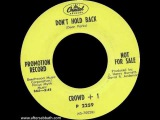 Crowd + 1 (pre-Bloodrock) - Don't Hold Back 1968 Heavy Psych Hard Rock US
