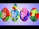 Яйца с сюрпризом. Фиксики. Учим цвета. Surprise Eggs. Learn colors. Киндер сюрприз. kinder surprise.