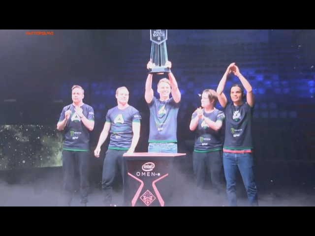 The Final Match 2017. Alliance are the champions! 3:1 vs SG esports Winning moment dota 2 AfterGame