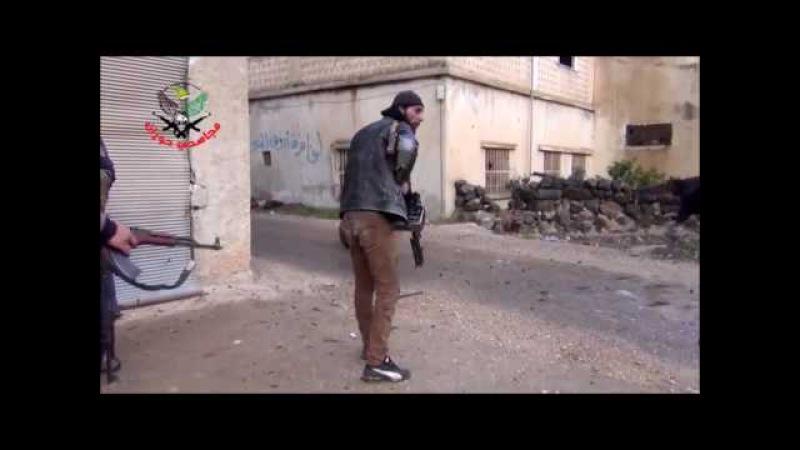 Сирия реальная перестрелка ранили в живот