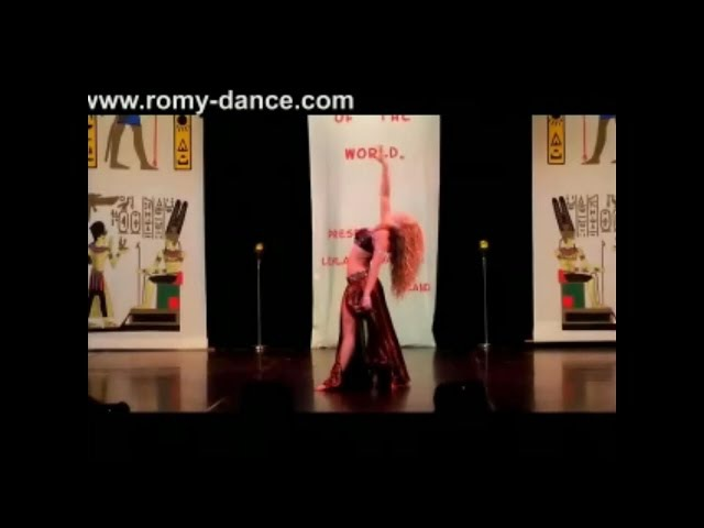 1st Place Bellydancer of the World 2013 BDSS Romy