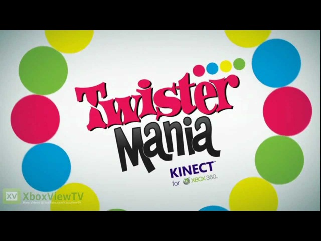 Twister Mania - Official Trailer for Kinect