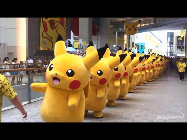 2016 Pikachu Outbreak! Pikachu Parade in Queen's Square