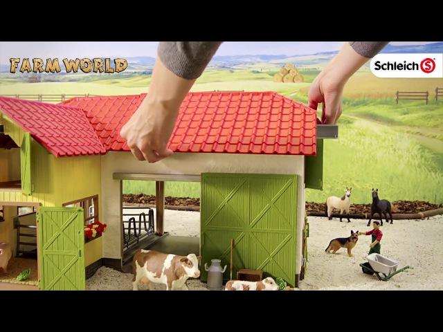 Большая Ферма с животными и аксессуарами Schleich