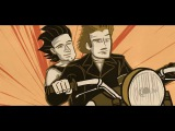 Bono narrates the story of the birth of U2 in this animated clip