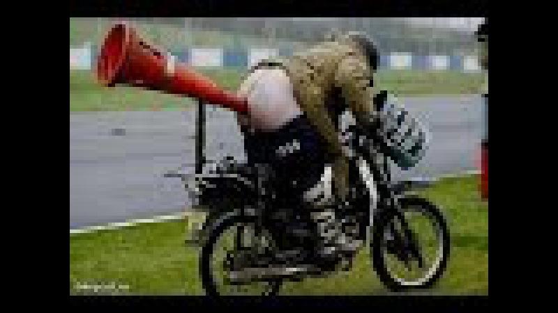 Acrobazie non riuscita in moto Неудачные трюки на мотоциклах