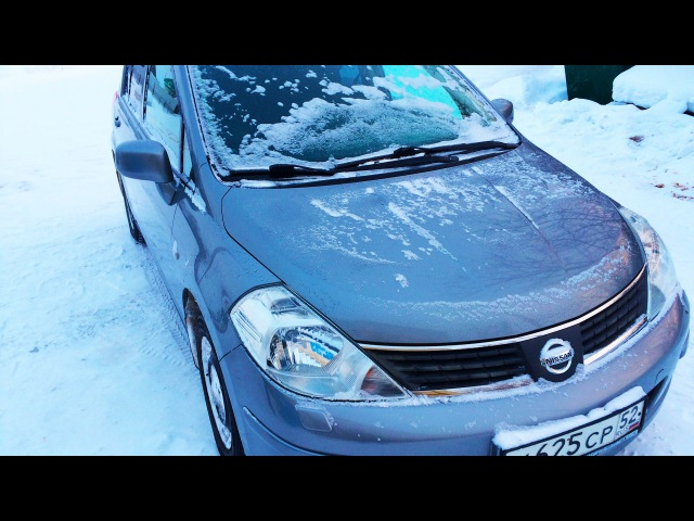 Nissan Tiida Просторный Хэтчбек 2007 МКПП