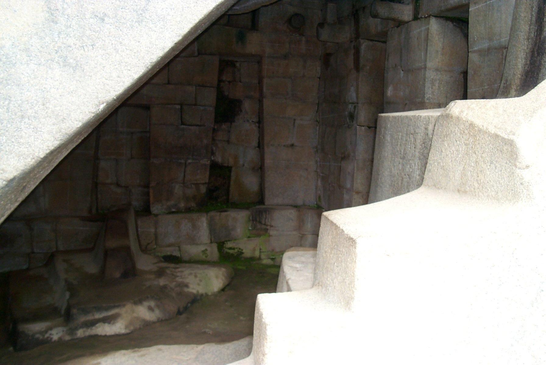 Царская гробница в Мачу-Пикчу