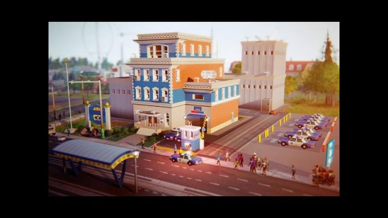 Прохождение SimCity 5 строим город – Полиция Сим Сити 5