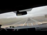 Пыльная буря на выезде из Бийска