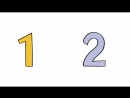 123 Zahlen Lied zählen lernen mit Tieren und Co Deutsch lernen für Kinder numbers song german