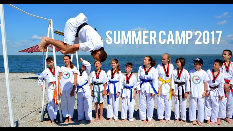 Taekwondo Art Way на спортивных сборах 2017г.