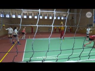 Липецкие волейболистки провели мастер-класс для лучших стрелков страны