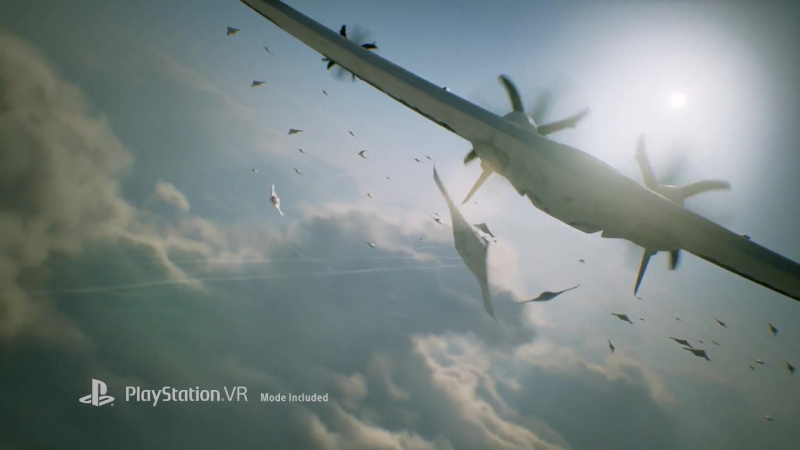 Ace Combat 7 - PlayStation Experience 2016 Trailer PS4, PSVR [Full HD,1920x1080p]