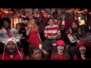Jimmy Fallon, Mariah Carey The Roots- All I Want For Christmas Is You (w- Classroom Instruments)