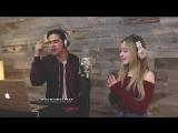 Alex Aiono и Sabrina Carpenter спели песню Attention от Charlie Puth