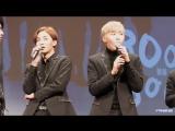 170121 Seungkwan's dab @ Myeongdong fansign