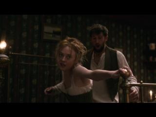 Dakota Fanning Дакота Фаннинг - Brimstone (2016) (эротическая постельная сцена из фильма знаменитость трахается голая sex scene)