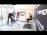 Стас Ярушин и Василий Демченко на бросковом тренажере #рапидшот
