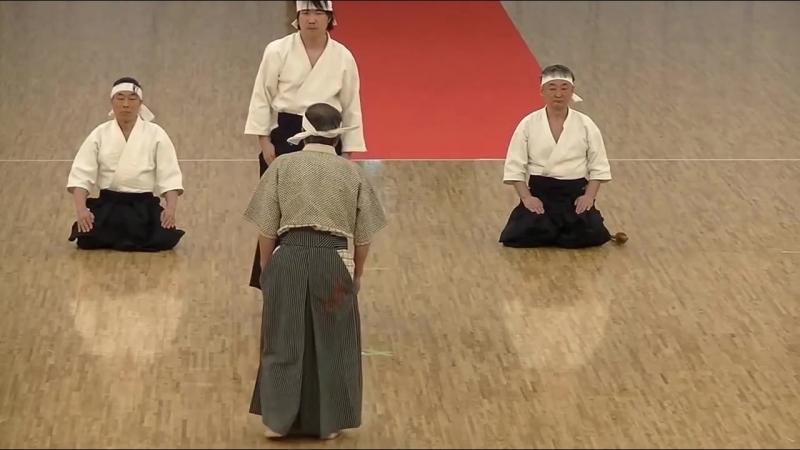 Ju Jutsu.Тендзин Синьо Рю.Показательные выступления.