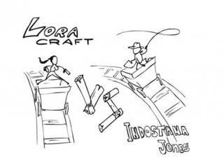 Project versus - lora craft vs indostana jones _ versus