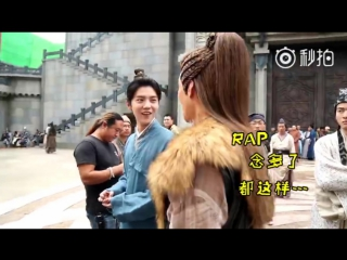 [BTS] 170423 LuHan @ Fighter of the Destiny Behind the Scenes