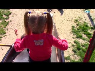Ярослава и Рита на детской площадке - Детское видео