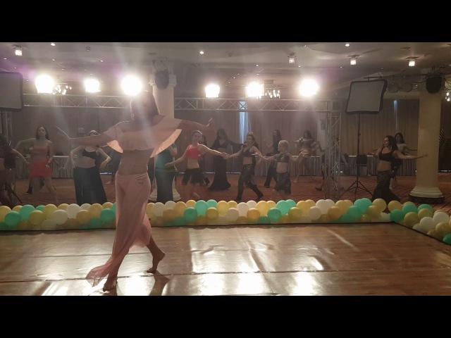 Orit Maftsir workshop in Ukraine 2017 Belly Lady Club festival in Kiev by Daria Danilkina