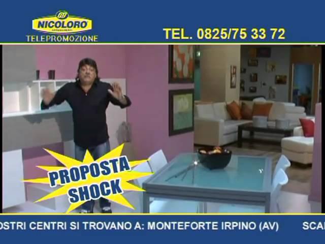 TELEVENDITA NICOLORO ARREDAMENTI CON IL BAFFO