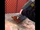 Очистка ржавчины с помощью лазера