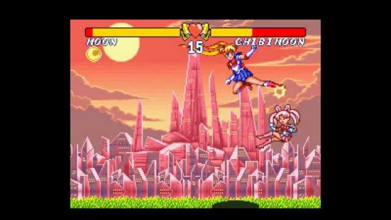 SNES Longplay [293] Bishoujo Senshi Sailor Moon S - Jougai Rantou! Shuyaku Soudatsusen