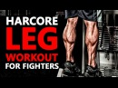 Evil Legs (Angry Legs) - killing leg workout for fighters | Fight Vision | Retro Karate
