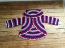 Gilet mandala toutes tailles crochet facile Chaqueta mandala super facil todas las tallas crochet